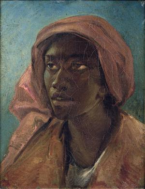 Primary view of object titled 'A Young Negro Woman'.