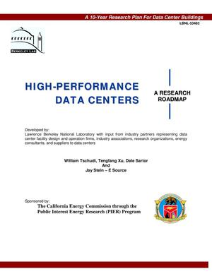 Primary view of object titled 'High-performance data centers: A research roadmap'.