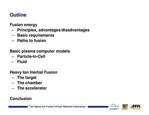 Overview of heavy-ion fusion focus on computer simulation