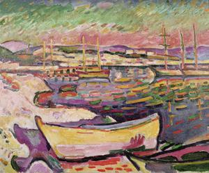 Primary view of object titled 'Boats in the Bay'.