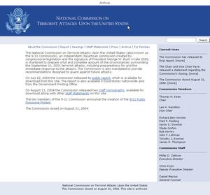 National Commission on Terrorist Attacks Upon the United States