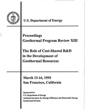 Primary view of object titled 'The Role of Cost Shared R&D in the Development of Geothermal Resources'.