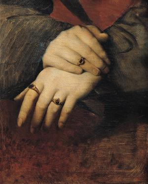 Primary view of object titled 'Study of a Woman's Hands'.