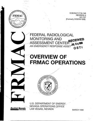 Primary view of object titled 'Federal Radiological Monitoring and Assessment Center Overview of FRMAC Operations'.