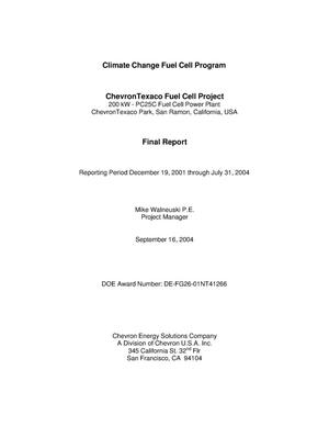 Primary view of object titled 'CLIMATE CHANGE FUEL CELL PROGRAM'.