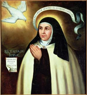 Primary view of St. Theresa of Avila