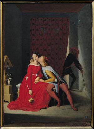 Gianciotto Discovers Paolo and Francesca