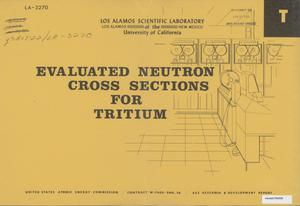 Primary view of object titled 'Evaluated Neutron Cross Sections for Tritium'.