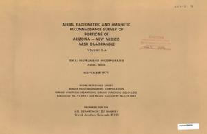 Primary view of object titled 'Aerial Radiometric and Magnetic Reconnaissance Survey of Portions of Arizona--New Mexico: Volume 2-A, Mesa Quadrangle'.