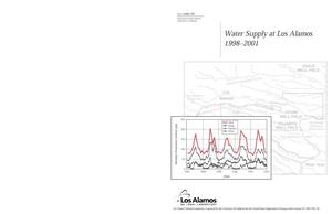Primary view of object titled 'Water Supply at Los Alamos 1998-2001'.