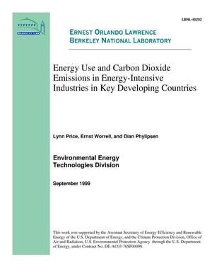 Primary view of object titled 'Energy use and carbon dioxide emissions in energy-intensive industries in key developing countries'.