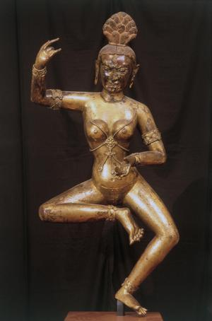 Primary view of object titled 'Dancing Dakini'.