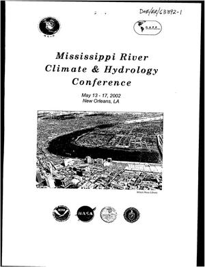 Primary view of object titled 'Mississippi Climate & Hydrology Conference'.