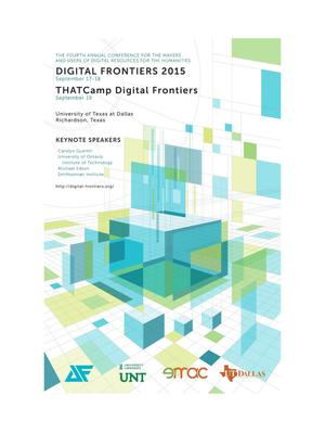 Primary view of object titled 'Proceedings of Digital Frontiers 2015'.
