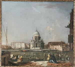 Primary view of object titled 'Santa Maria della Salute, Venice'.