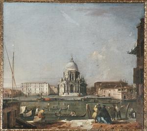 Primary view of Santa Maria della Salute, Venice