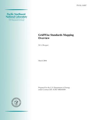 Primary view of object titled 'GridWise Standards Mapping Overview'.