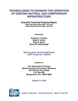 Primary view of object titled 'TECHNOLOGIES TO ENHANCE THE OPERATION OF EXISTING NATURAL GAS COMPRESSION INFRASTRUCTURE'.