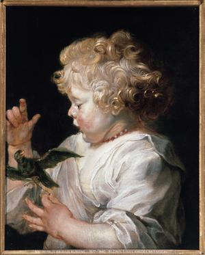 Primary view of A Child with a Bird
