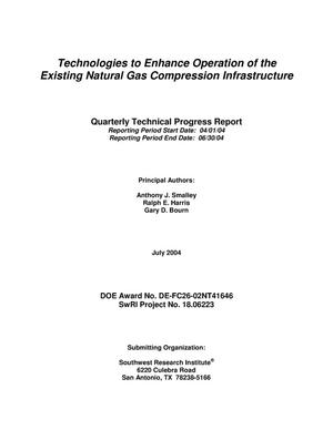 Primary view of object titled 'TECHNOLOGIES TO ENHANCE OPERATION OF THE EXISTING NATURAL GAS COMPRESSION INFRASTRUCTURE'.