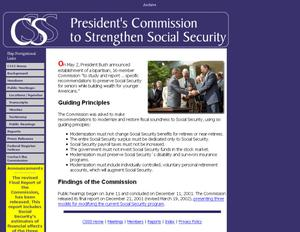 Commission to Strengthen Social Security
