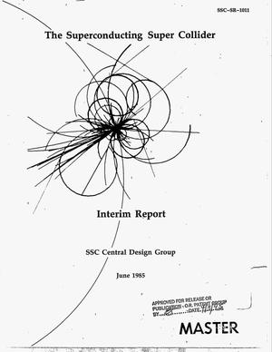 Primary view of object titled 'Interim report'.