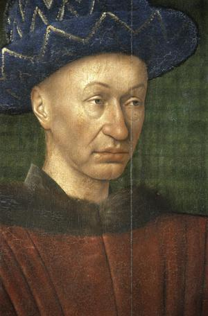 Portrait of King Charles VII of France