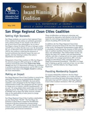 Primary view of object titled 'Clean Cities Award Winning Coalition: San Diego'.