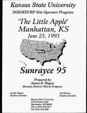 Primary view of object titled 'Kansas State University: DOE/KEURP Site Operator Program. Year 4, fourth quarterly report, April 1, 1995--June 30, 1995'.