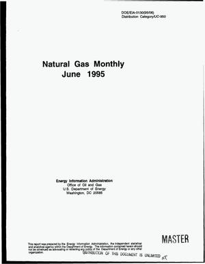 Primary view of object titled 'Natural gas monthly, June 1995'.