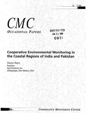Primary view of object titled 'Cooperative Monitoring Center Occasional Paper/11: Cooperative Environmental Monitoring in the Coastal Regions of India and Pakistan'.