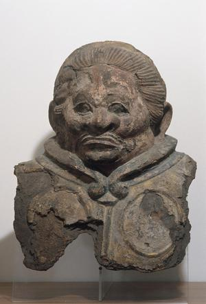 Primary view of object titled 'Bust of a Celestial King'.