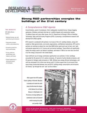 Primary view of object titled 'Strong R and D Partnerships Energize the Buildings of the 21st Century'.