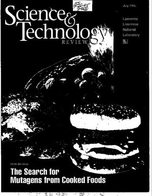 Primary view of object titled 'Science and Technology review: The search for mutagens from cooked foods'.