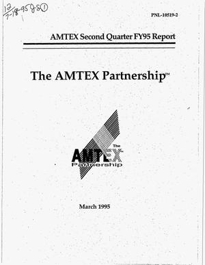 Primary view of object titled 'The AMTEX Partnership. Second quarter report, Fiscal Year 1995'.