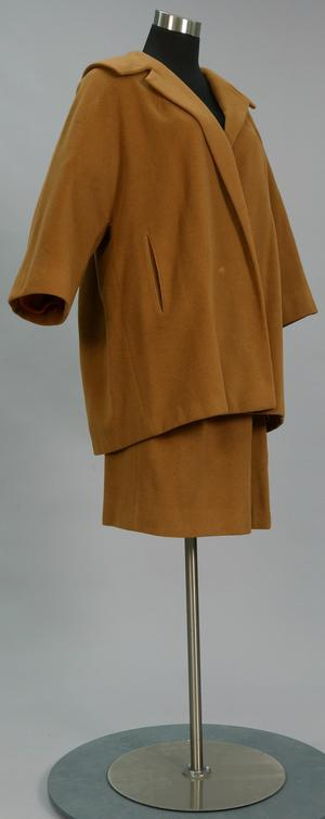 Primary view of object titled 'Suit - Jacket and Skirt'.
