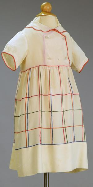 Primary view of object titled 'Girl's Dress'.