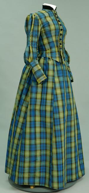 Primary view of object titled 'Ensemble - Bodice and Skirt'.