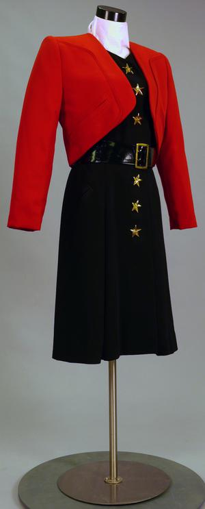 Primary view of object titled 'Ensemble - Dress and Bolero/Jacket'.