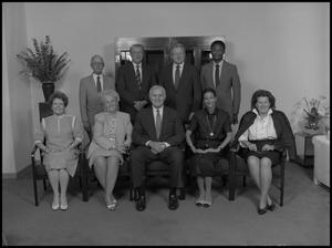 Primary view of object titled '['89 Board of Regents group photo 2]'.