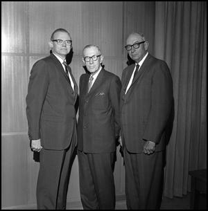 Primary view of object titled '[Three members of the North Texas State University Board of Regents 1]'.