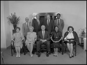 Primary view of object titled '['89 Board of Regents group shot 4]'.