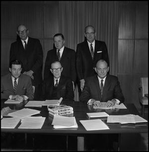 Primary view of object titled '[Board of Regents Members from mid-1960s 1]'.