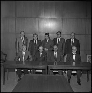 Primary view of object titled '[Board of Regents members from 1967 2]'.