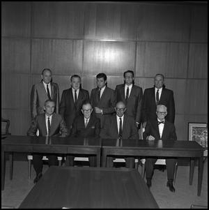 Primary view of object titled '[Board of Regents members from 1967 1]'.