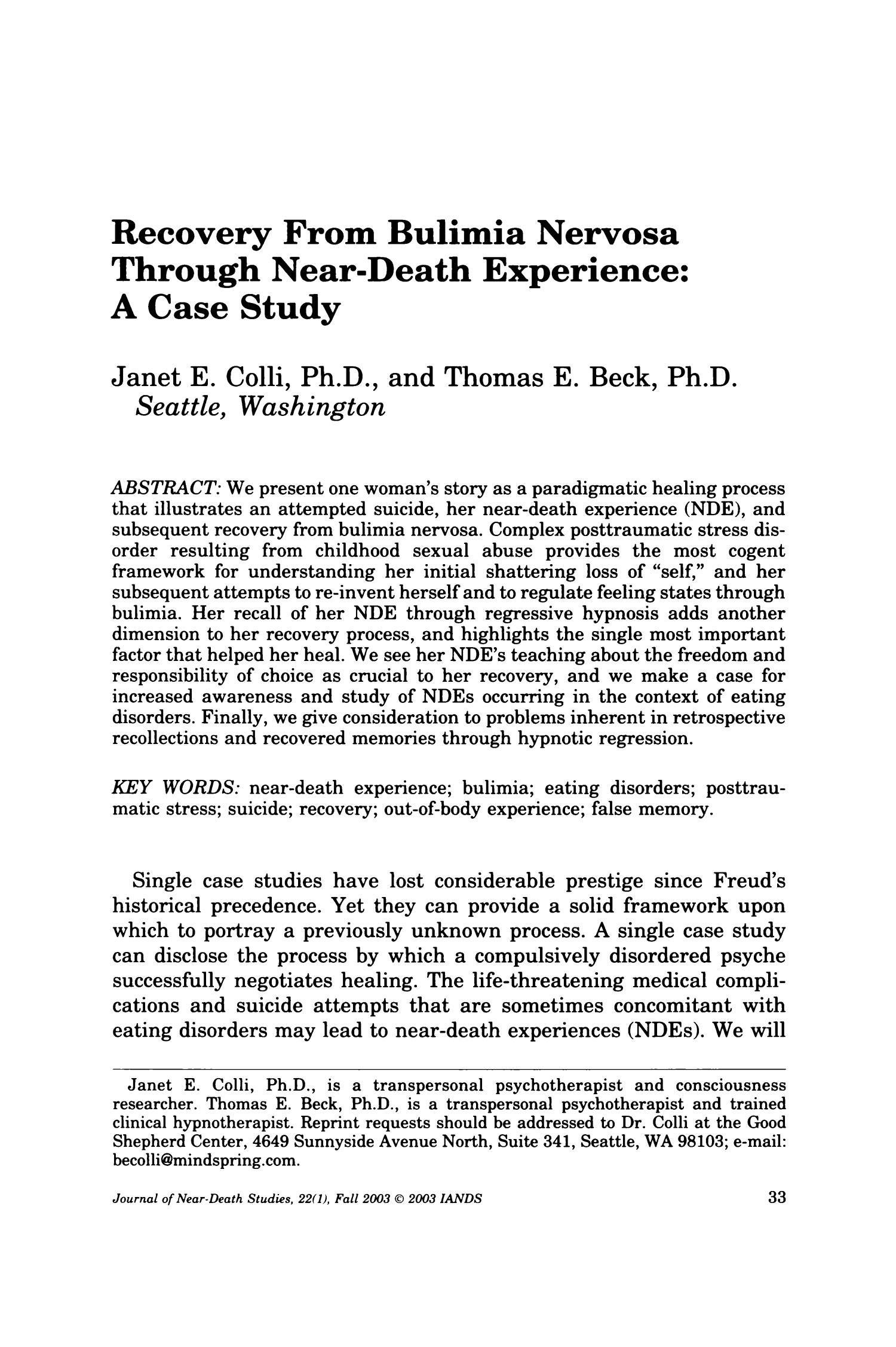 journal of near death studies pdf