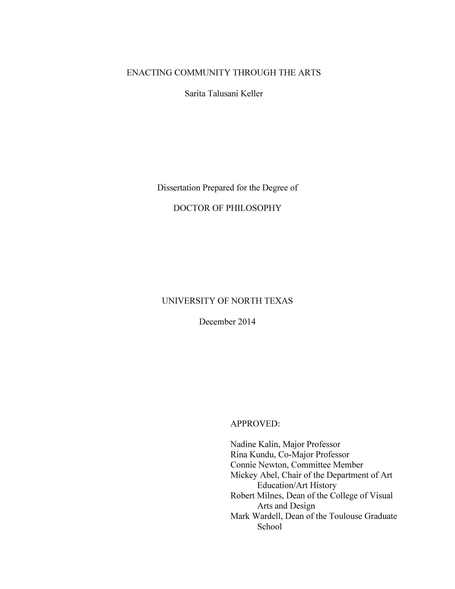 Art dissertation social work dissertation