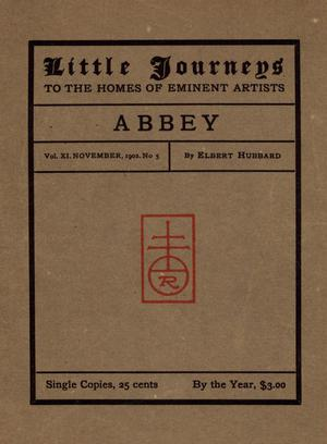 Primary view of Little Journeys, Volume 11, Number 3, November 1902