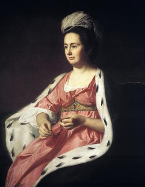 Primary view of Abigail Smith Babcock (Mrs Adam Babcock)