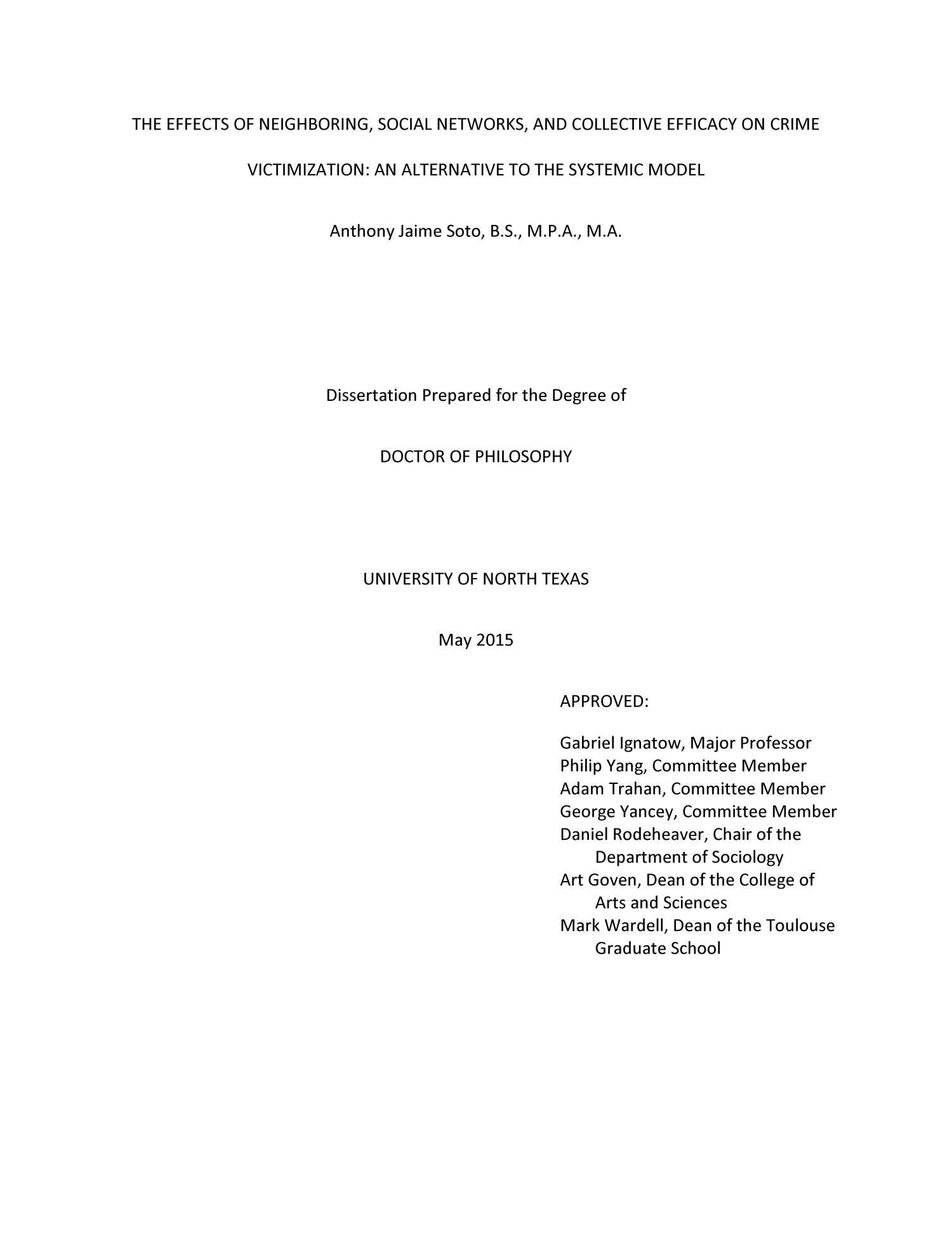 gabriel trahan dissertation